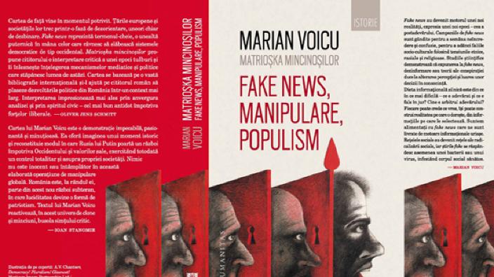 "BASARABIA 100 | Marian Voicu despre ""Matrioșka mincinoșilor, fake news, manipulare, populism"""