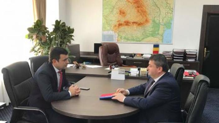 Dănuț Andrușcă: România va continua să acorde R.Moldova sprijin în realizarea proiectelor investiționale