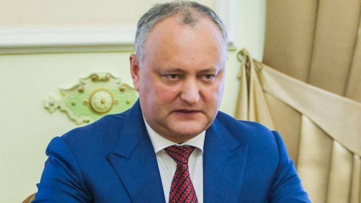Replica lui Igor Dodon pentru Pavel Filip după ce a fost avertizat că ar putea să fie suspendat din nou din funcție