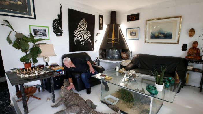 Un francez trăieşte cu 400 de reptile în locuinţă