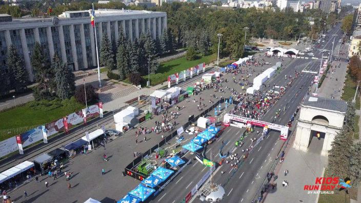 Maratonul Internațional Chișinău se desfășoară în această duminicăîn Capitală. Circulația rutieră a fost sistată pe mai multe străzi