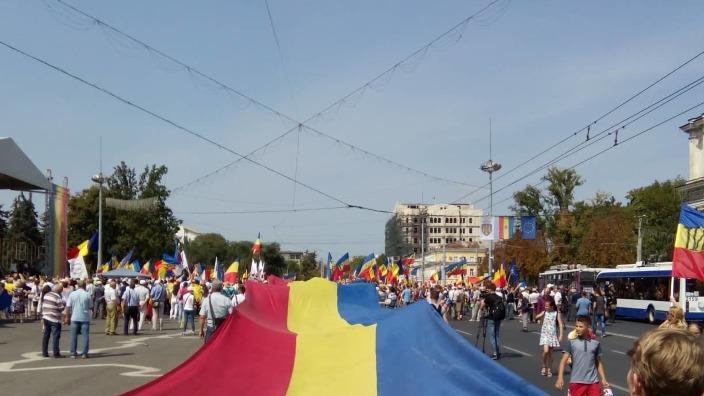 EXPERȚI: Prin implicarea poliției în acțiunea Marșul Centenar guvernarea ar încerca să atragă de partea sa electoratul statalist