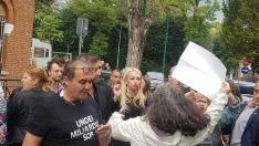 VIDEO | Moldovenii din Veneția au întâmpinat-o cu un protest și huiduieli pe Marina Tauber, la un concert organizat de Ilan Șor