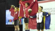 România a luat opt medalii la Europenele de haltere pentru juniori și tineret