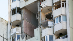 Planșeul dintre etajul 13 și 14 al blocului explodat la Râșcani va fi demolat și reconstruit