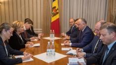 Igor Dodon a avut o întrevedere cu președinta Adunării Parlamentare NATO