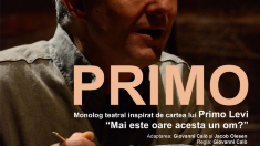 """Premiera spectacolului italian  """"Primo"""", în regia lui Giovani Galo, va avea loc la Chișinău pe 31 octombrie"""