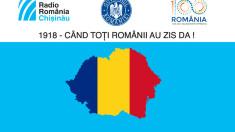 """Caravana Radio România Chișinău """"1918-Când toți românii au zis DA!"""" a ajuns la Hâncești"""