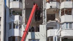 FOTO care REDAU atmosfera de la locul exploziei din sectorul Râșcani al Capitalei