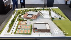 """FOTO   """"Chișinău Arena"""" – lucrările de construcție au fost lansate cu mult fast de autoritățile moldovene"""
