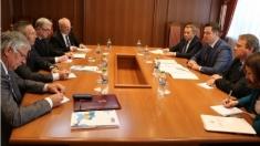 Tudor Ulianovschi a avut o întrevedere cu ambasadorii ţărilor Grupului Vișegrad, acreditați la Chișinău