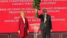 Recep Tayyip Erdogan și-a manifestat la Comrat recunoștința față de Suleyman Demirel și Stepan Topal pentru crearea Autonomiei Găgăuze