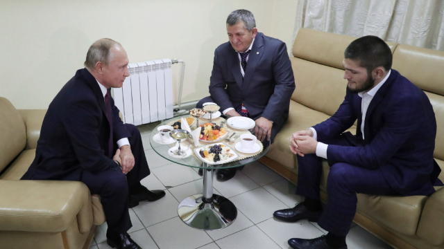 Vladimir Putin, într-o discuție sobră, l-a avertizat pe Nurmagomedov