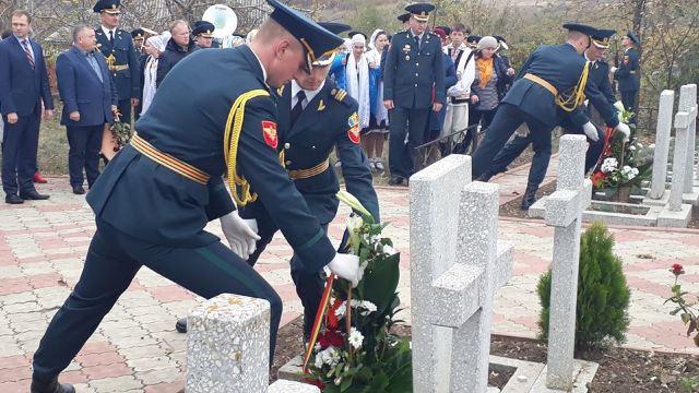 Comemorare la Cimitirul Eroilor Români de la Feștelița   Ei sunt eroii care au luptat pentru realizarea unui ideal național (foto)
