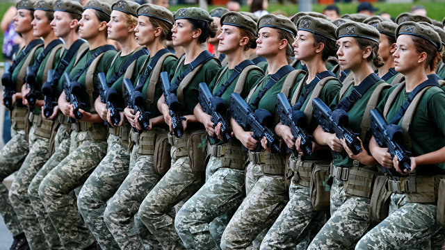 Egalitate între bărbaţi şi femei în cadrul serviciului militar al Forţelor Armate din Ucraina