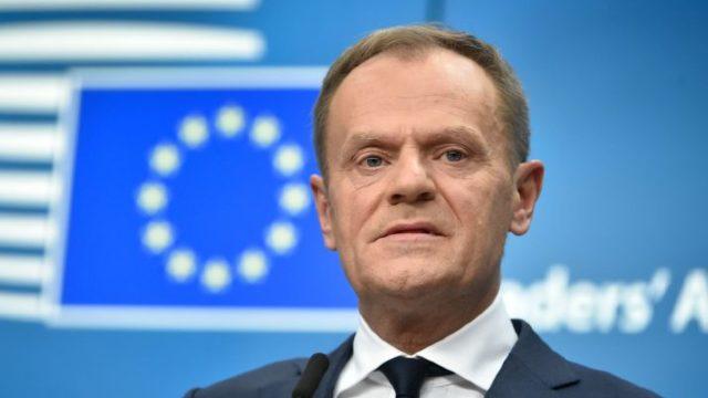 """Donald Tusk: Absența unui acord între Londra și UE în negocierile privind Brexit-ul este """"mai probabil ca niciodată"""