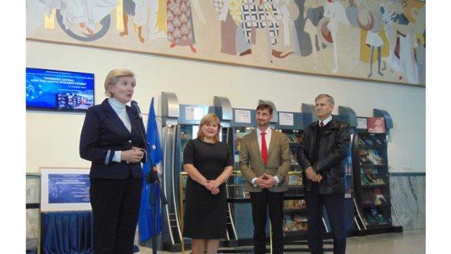 Patrimoniul cultural european prezentat într-o expoziție la Biblioteca Națională