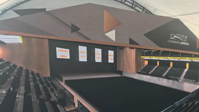 Au fost lansate oficial lucrările de construcție a complexului sportiv