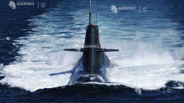 """Aplicații ale Flotei Ruse în Marea Neagră cu un submarin supranumit """"gaura neagră"""""""