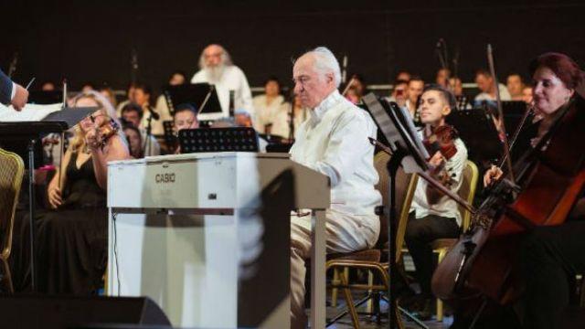 Un concert extraordinar de maestrul Eugen Doga a avut loc la Conservatorul din Bruxelles, eveniment prilejuit de Centenarul Unirii