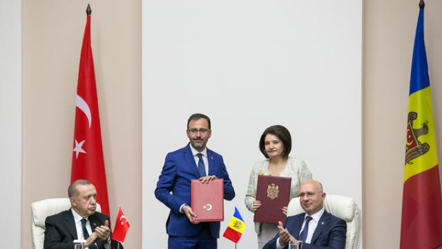 R.Moldova și Turcia au semnat cinci acorduri bilaterale. Care sunt prevederile acestor documente