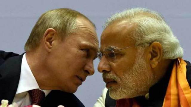 Preşedintele Rusiei a sosit în India într-o vizită dominată de vânzările de arme