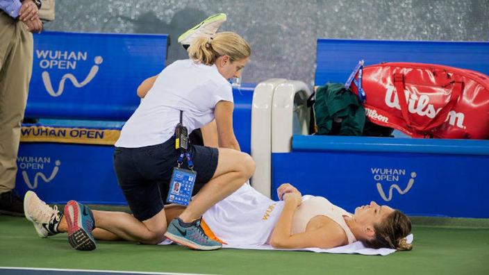 Simona Halep a anunțat când va reveni pe teren, după diagnosticul de hernie de disc