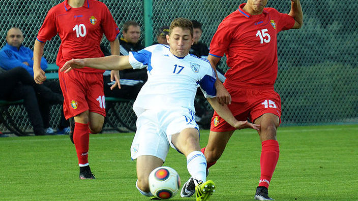 Naționala de juniori a R.Moldova a suferit a doua înfrângere la campionatul european de fotbal