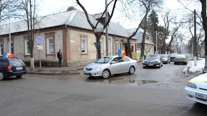 Un marș automobilistic dedicat Unirii Republicii Moldova cu România se va desfășura mâine în Chișinău
