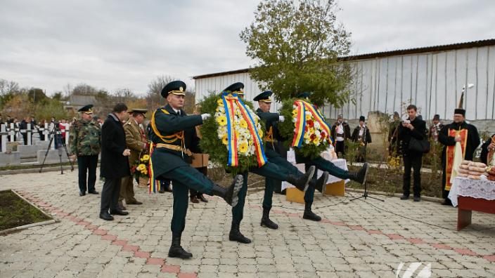 Evenimente dedicate Zilei Armatei Române în R.Moldova