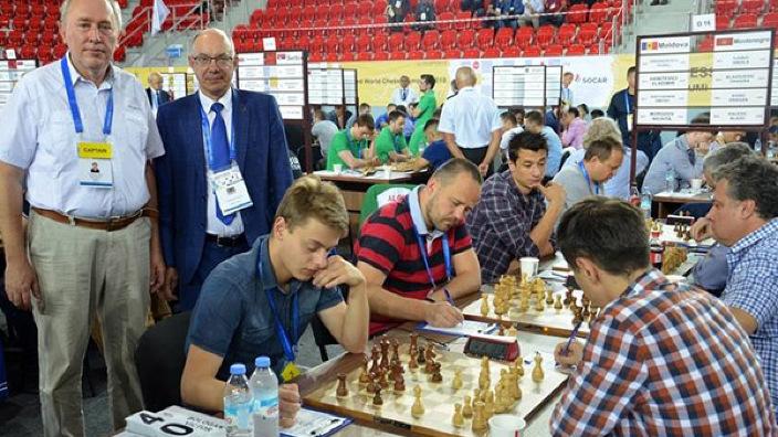 Olimpiada Mondială de șah   Tricolorii au învins Slovenia, cu 3,5 la 0,5