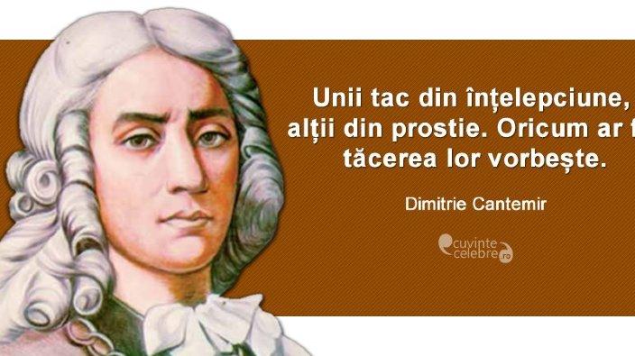 Dimitrie Cantemir | Opera marelui cărturar român - 345 de ani de la naștere
