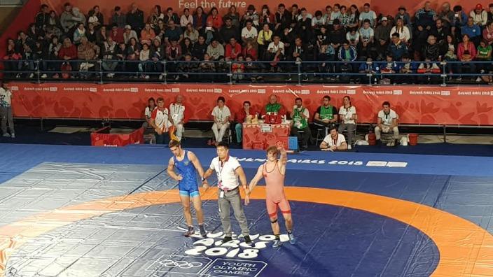 Luptătorul Alexandrin Guțu a cucerit încă un aur pentru Republica Moldova la Jocurile Olimpice de tineret