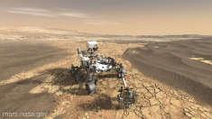 FOTO | Agenţia spaţială americană NASA a identificat locul potrivit pentru amartizarea vehiculului rover Mars 2020