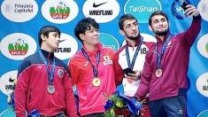 Maxim Saculțan, medaliat cu bronz la mondialele de lupte printre tineret