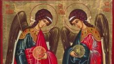 Creştinii ortodocşi de stil vechi îi cinstesc astăzi pe Sfinţii Arhangheli Mihail şi Gavriil
