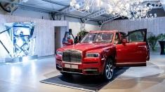 FOTO | Rolls-Royce Cullinan, primul SUV din istoria mărcii britanice, a debutat oficial în România