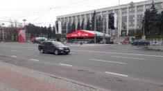 ATENȚIE | Circulația transportului, sistată în centrul Chișinăului, în urma unui miting electoral al PSRM