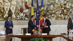 Un protocol de colaborare economică moldo-română a fost semnat la Chișinău