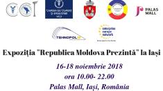 Zeci de companii din R.Moldova își vor prezenta produsele la Iași