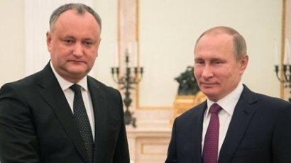 Igor Dodon pleacă din nou în Rusia