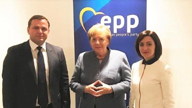 Maia Sandu s-a întâlnit cu Angela Merkel la Helsinki. Ce crede cancelarul german despre R.Moldova