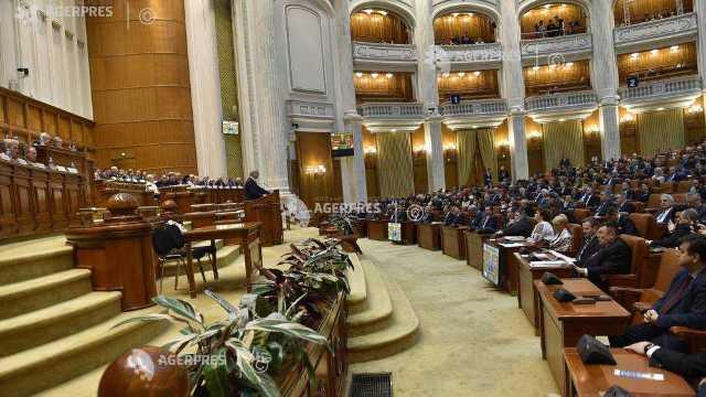 Parlamentul României se reunește în ședință solemnă pentru a celebra împlinirea a 100 de ani de la Marea Unire
