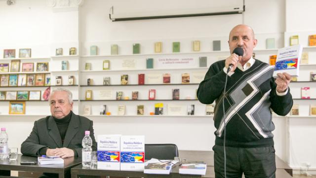 """Triplă lansare de carte a autorului român Corneliu Filip, la Biblioteca """"B. P. Hasdeu"""""""