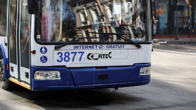 O nouă rută de troleibuz va fi lansată astăzi în municipiul Chișinău