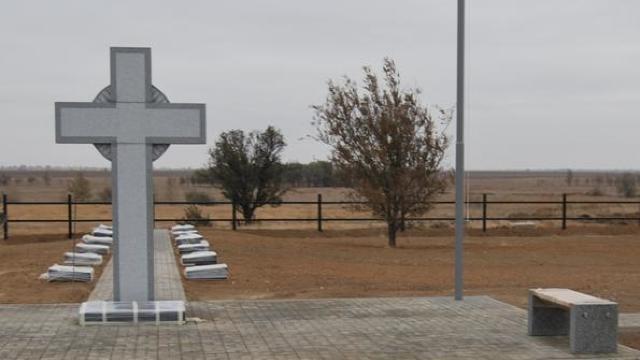Al doilea cimitir al militarilor români căzuți pe frontul de est