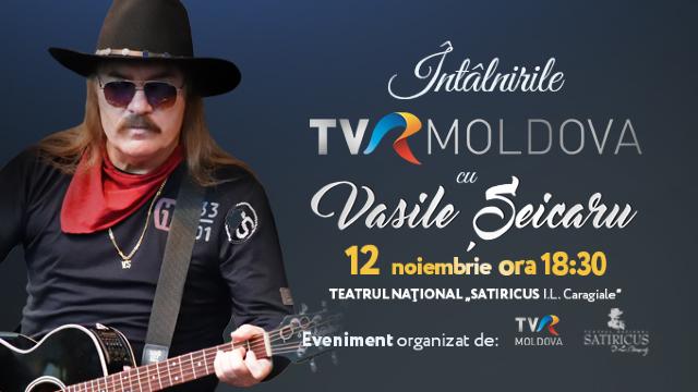 """""""Întâlnirile TVR MOLDOVA"""" cu Vasile Șeicaru"""