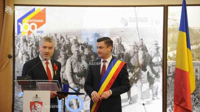 Iași | Aleșii locali au semnat Declarația de Recunoaștere a Ținuturilor Cernăuți, Storojineț și Herța ca parte a României Mari