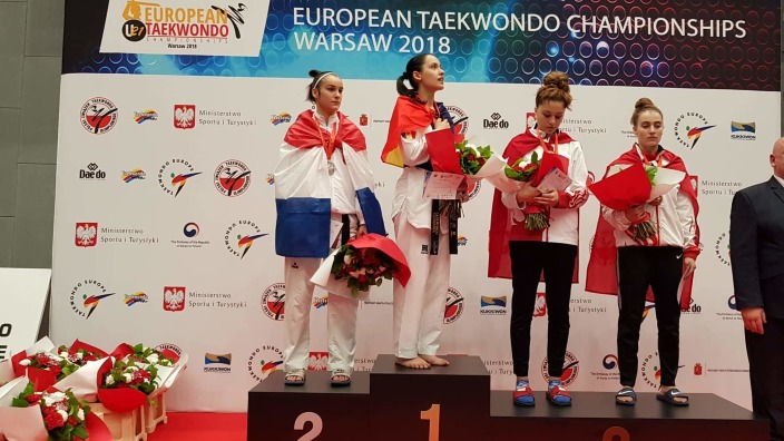 Aur pentru Republica Moldova, cucerit de Ana Ciuchitu la Campionatul European de Taekwondo printre tineri