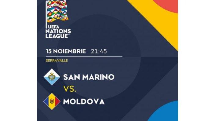Moldova a învins la limită San Marino